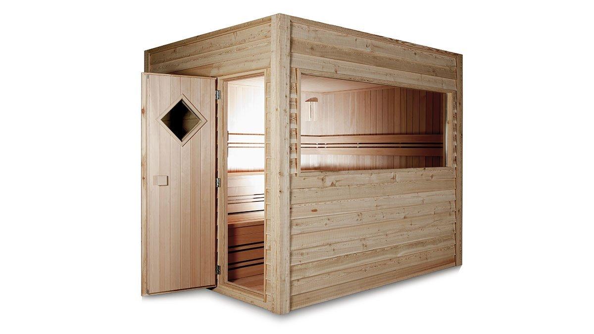 Saunas d 39 ext rieur intervap europa - Sauna finlandais exterieur ...
