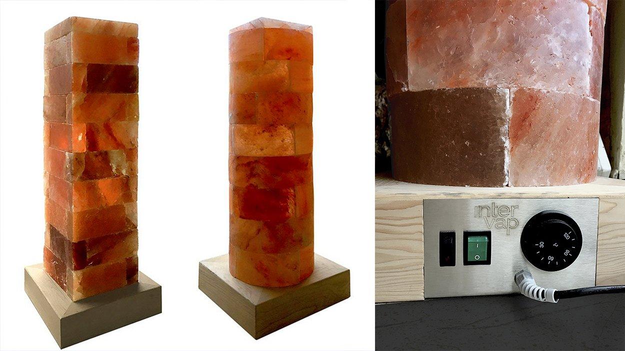 Saline heat / Estufas de sal