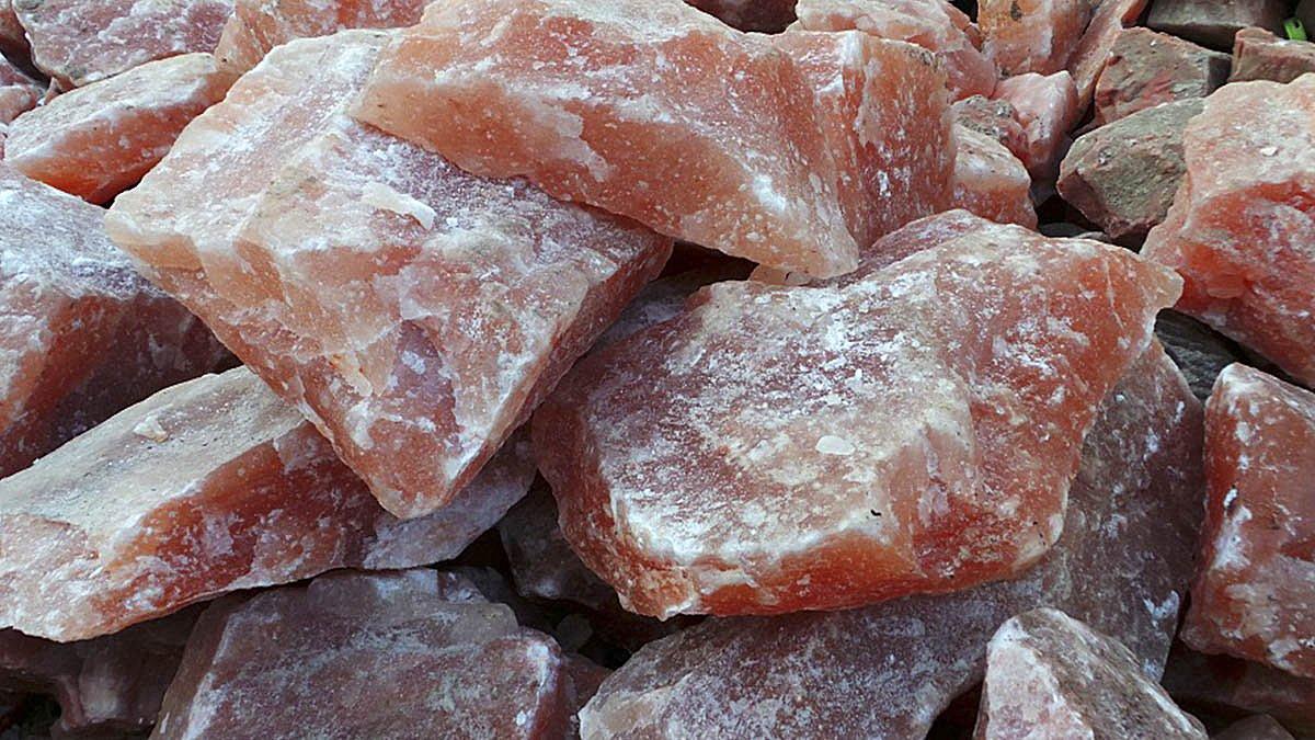 Rocas de pedra natural de sal