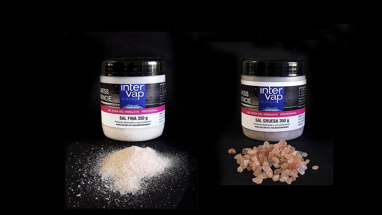 Sal para halogeneradores