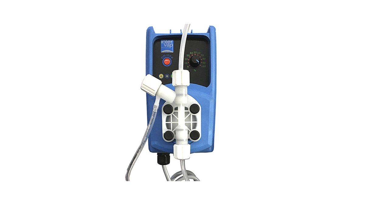 Dosificador automático de aromas con bomba