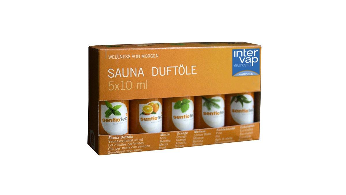Set de aromas para saunas